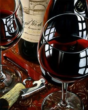 Simply Red | Victor Ostrovsky | Painting-Exposures International Gallery of Fine Art - Sedona AZ