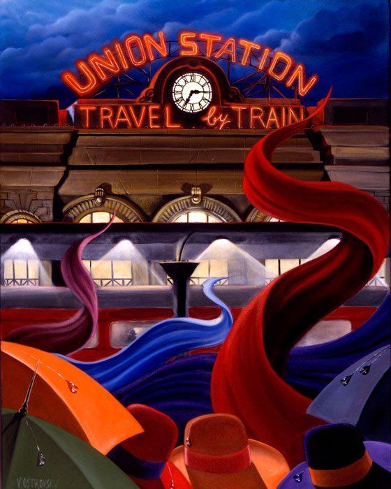 Station Victor Ostrovsky Exposures International