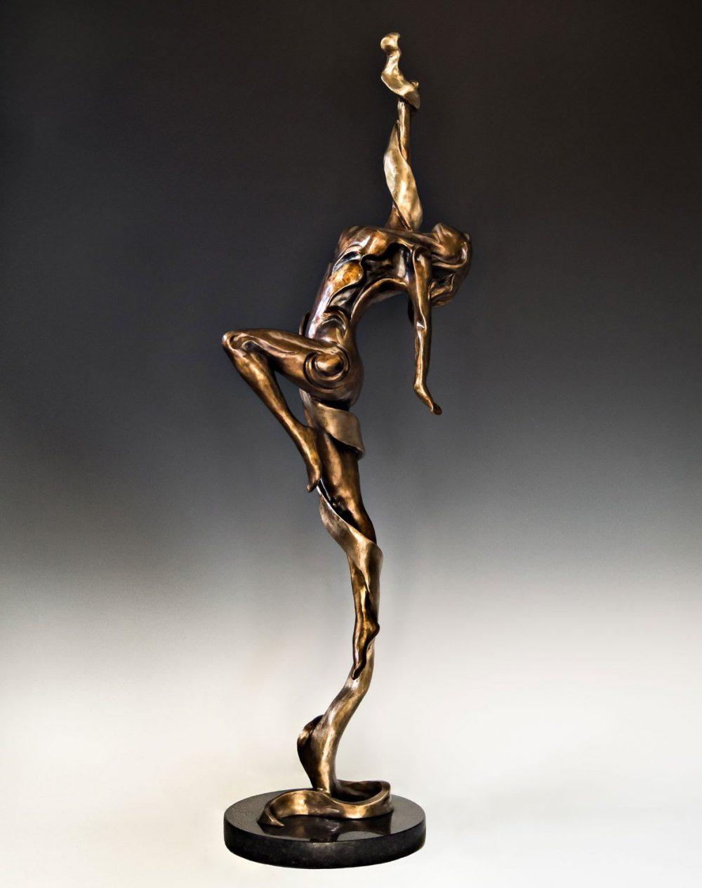 Carpe Diem | Scy Caroselli | Sculpture-Exposures International Gallery of Fine Art - Sedona AZ
