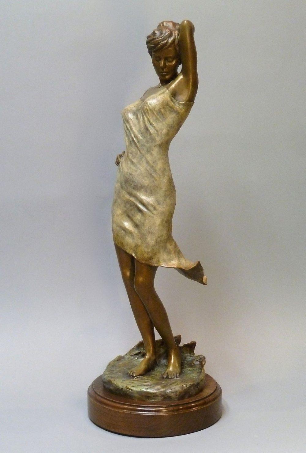 Midnight Breeze   Scy Caroselli   Sculpture-Exposures International Gallery of Fine Art - Sedona AZ