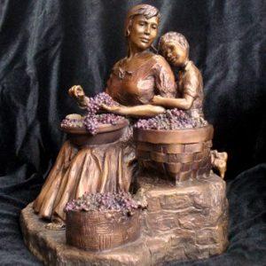 Morning Market   Scy Caroselli   Sculpture-Exposures International Gallery of Fine Art - Sedona AZ