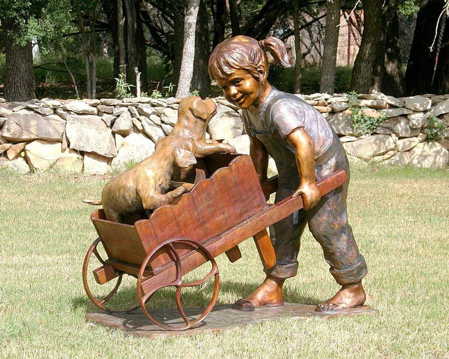 Precious Cargo | Scy Caroselli | Sculpture-Exposures International Gallery of Fine Art - Sedona AZ