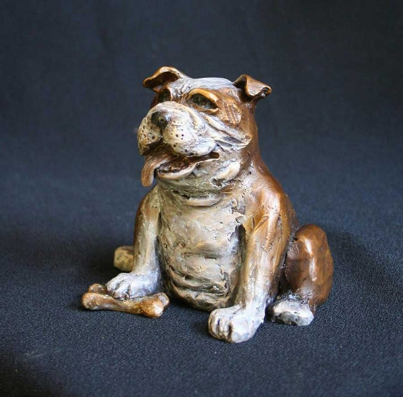 Rufus | Scy Caroselli | Sculpture-Exposures International Gallery of Fine Art - Sedona AZ
