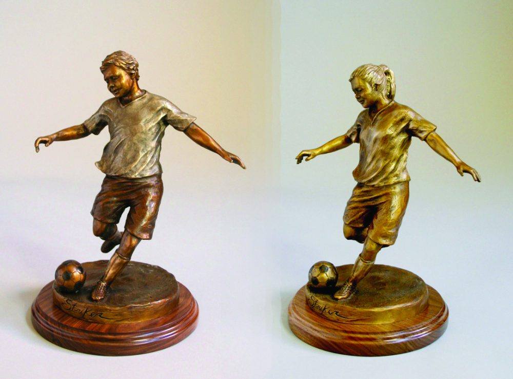 Striker | Scy Caroselli | Sculpture-Exposures International Gallery of Fine Art - Sedona AZ