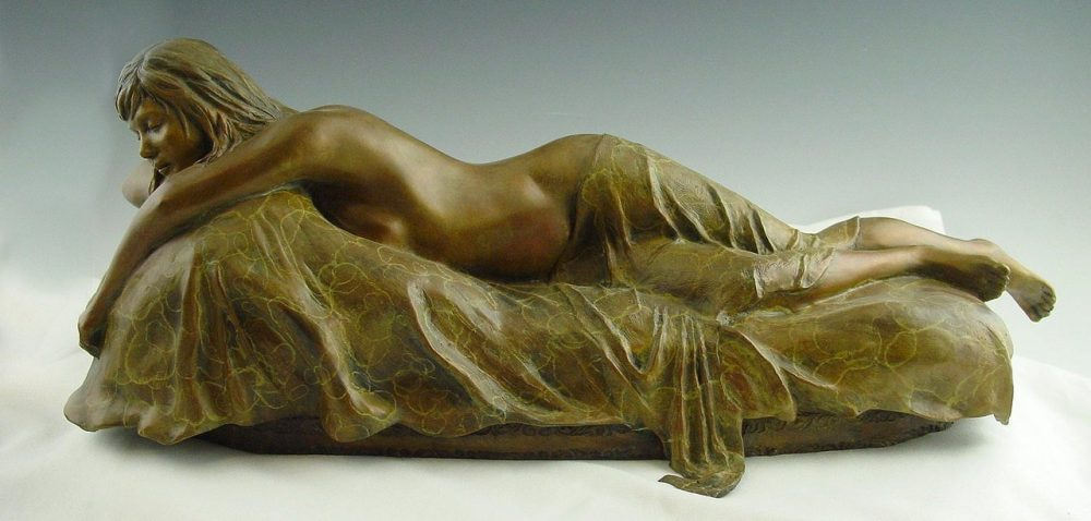 Thinking of You | Scy Caroselli | Sculpture-Exposures International Gallery of Fine Art - Sedona AZ