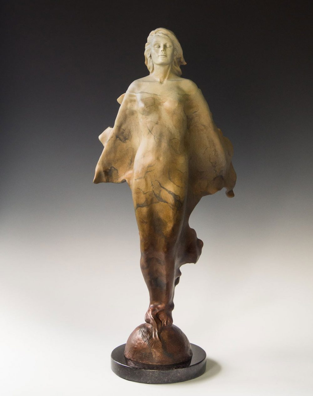Transcendence | Scy Caroselli | Sculpture-Exposures International Gallery of Fine Art - Sedona AZ