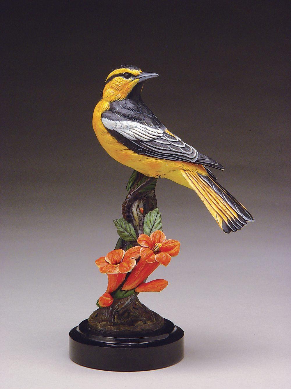 Bullock's Oriole | Joan Zygmunt | Sculpture-Exposures International Gallery of Fine Art - Sedona AZ