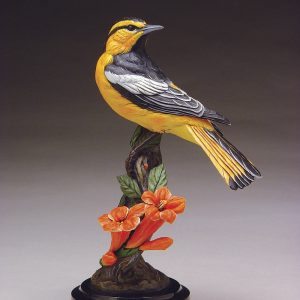 Bullock's Oriole | Joan Zygmunt | Sculpture-Exposures International Gallery of Fine Art - Sedona AZ