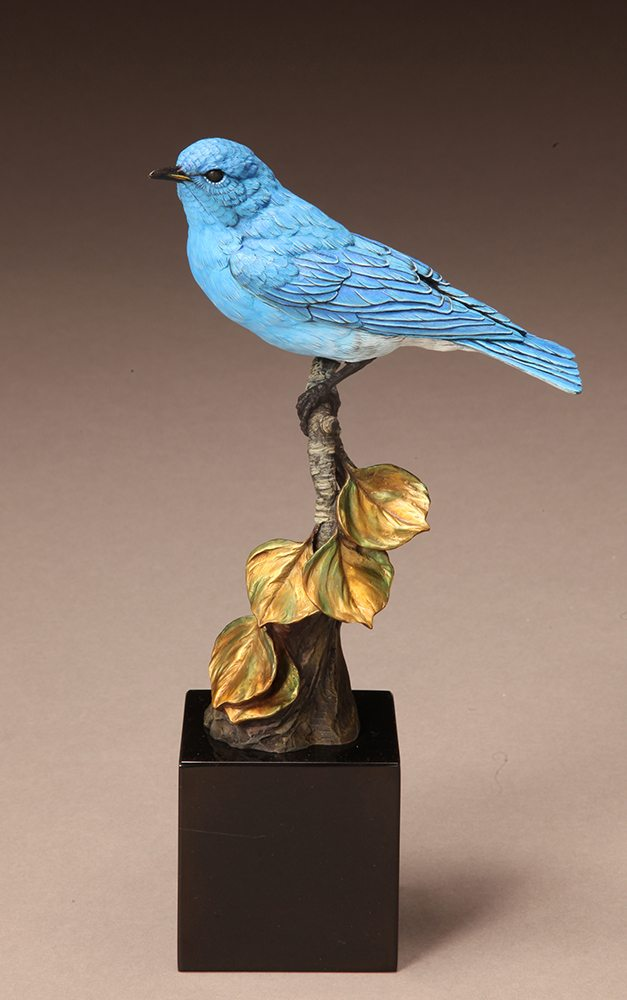 Mountain Bluebird | Joan Zygmunt | Sculpture-Exposures International Gallery of Fine Art - Sedona AZ
