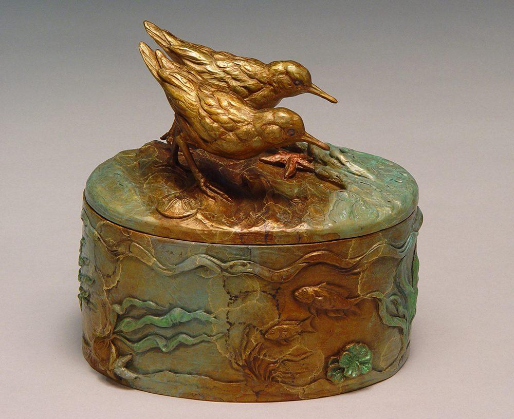Shoreline Treasures   Joan Zygmunt   Sculpture-Exposures International Gallery of Fine Art - Sedona AZ