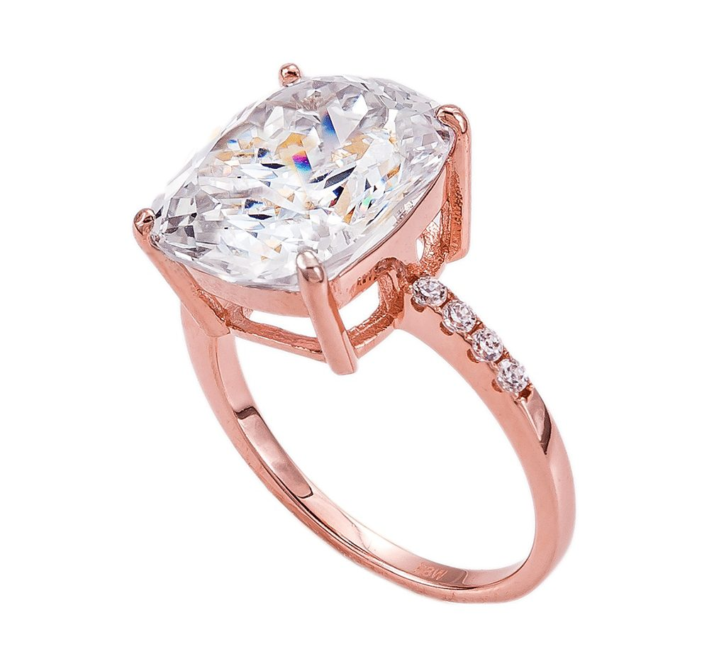18 KGP Rose Gold 4 Carat Floating Ring | Bling By Wilkening | Jewelry-Exposures International Gallery of Fine Art - Sedona AZ