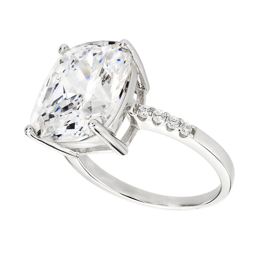 Sterling Silver 4 Carat Floating Ring | Bling By Wilkening | Jewelry-Exposures International Gallery of Fine Art - Sedona AZ