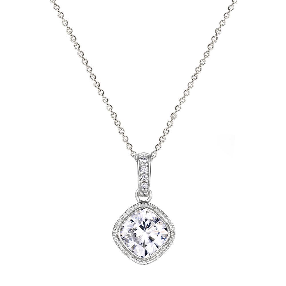 Sterling Silver 2 Carat NoHo Necklace | Bling By Wilkening | Jewelry-Exposures International Gallery of Fine Art - Sedona AZ