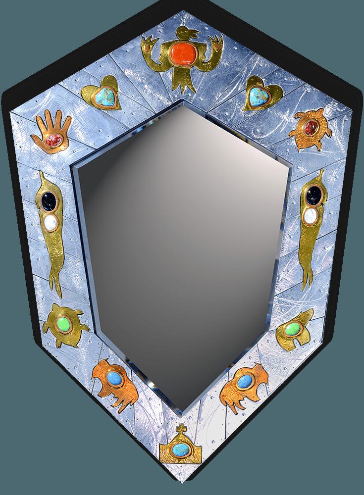 Thom Wheeler Southwest Deco Mirror Exposures International