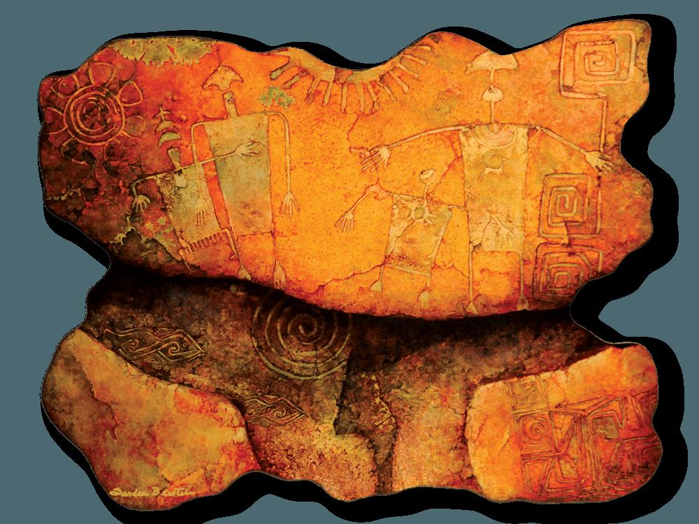 Ascending Deities | Sandra Brestel | Painting-Exposures International Gallery of Fine Art - Sedona AZ