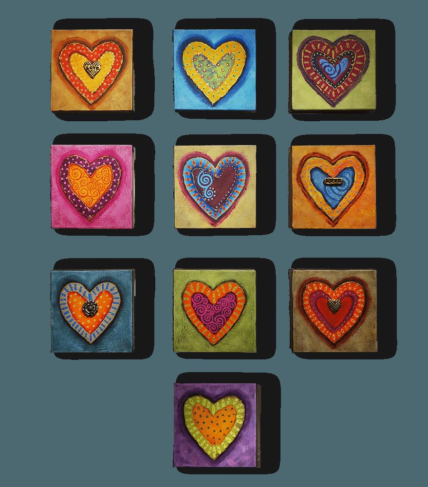 Penelope Bushman Heart Series Exposures International