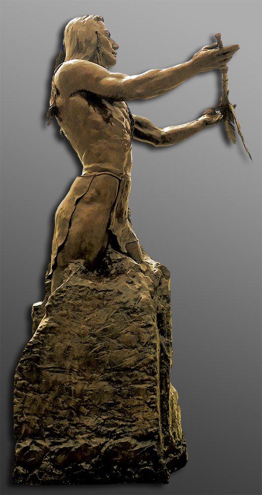 Nature's Keeper | Bobbie Carlyle | sculpture-Exposures International Gallery of Fine Art - Sedona AZ