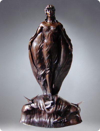 Sea Swept | Bobbie Carlyle | sculpture-Exposures International Gallery of Fine Art - Sedona AZ