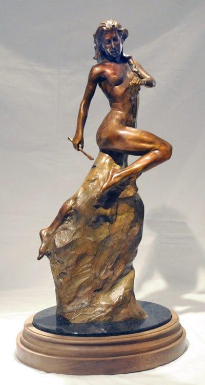 "Self Made Woman - 24"" Tall | Bobbie Carlyle | sculpture-Exposures International Gallery of Fine Art - Sedona AZ"