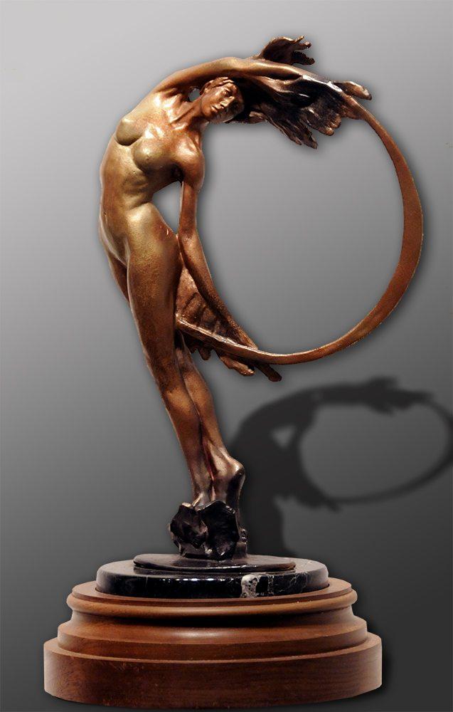 "Sunriser I - 42"" Tall | Bobbie Carlyle | sculpture-Exposures International Gallery of Fine Art - Sedona AZ"
