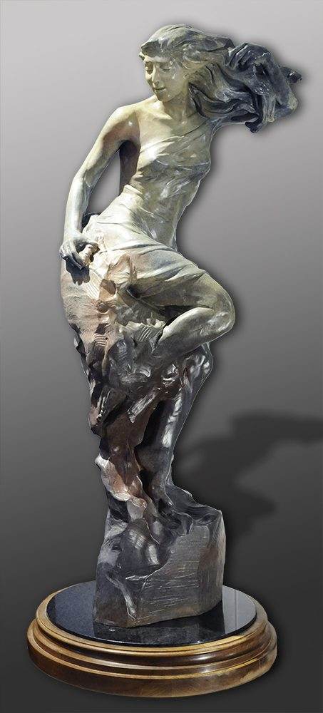 Woman in Progress | Bobbie Carlyle | sculpture-Exposures International Gallery of Fine Art - Sedona AZ