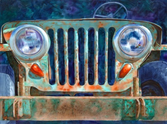 Jeepers it's a Willy! | Dianne Adams | Painting-Exposures International Gallery of Fine Art - Sedona AZ