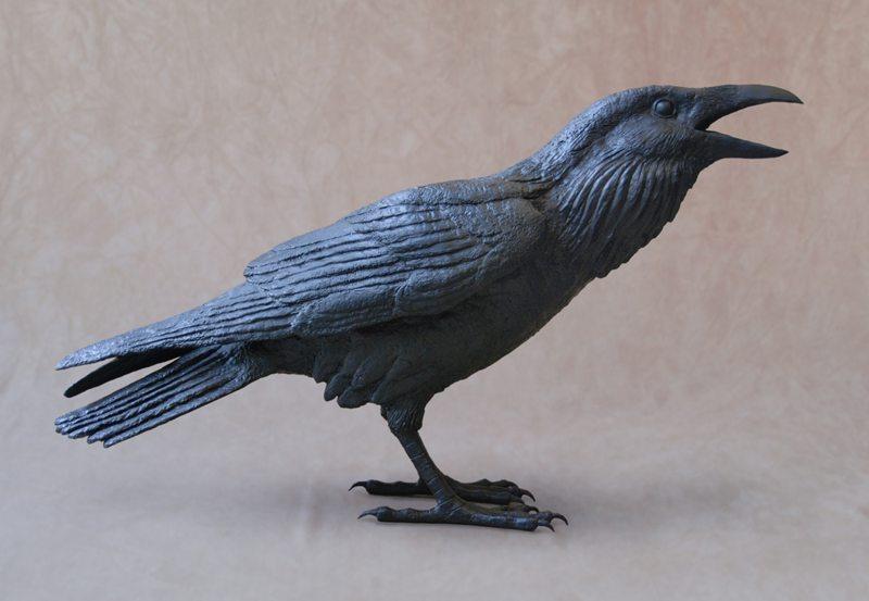 Raven A | Jim Eppler | Sculpture-Exposures International Gallery of Fine Art - Sedona AZ