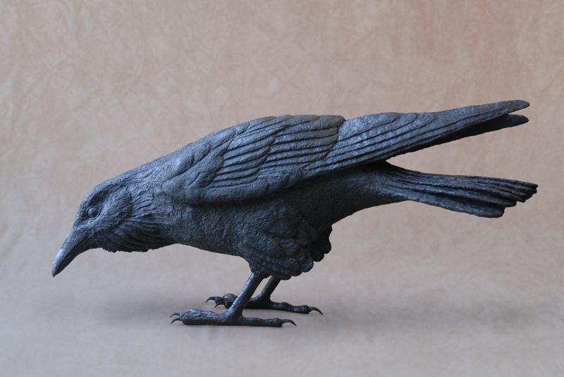 Raven B   Jim Eppler   Sculpture-Exposures International Gallery of Fine Art - Sedona AZ
