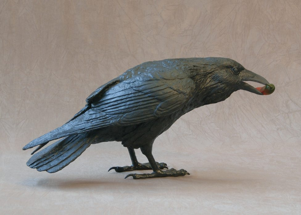 Raven IV C | Jim Eppler | Sculpture-Exposures International Gallery of Fine Art - Sedona AZ