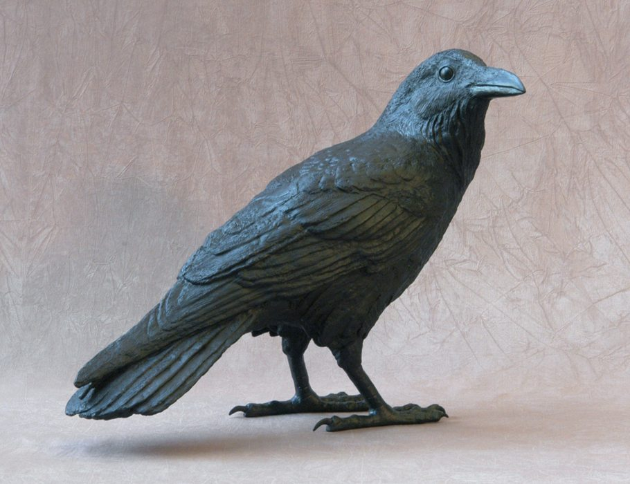 Raven VI C | Jim Eppler | Sculpture-Exposures International Gallery of Fine Art - Sedona AZ