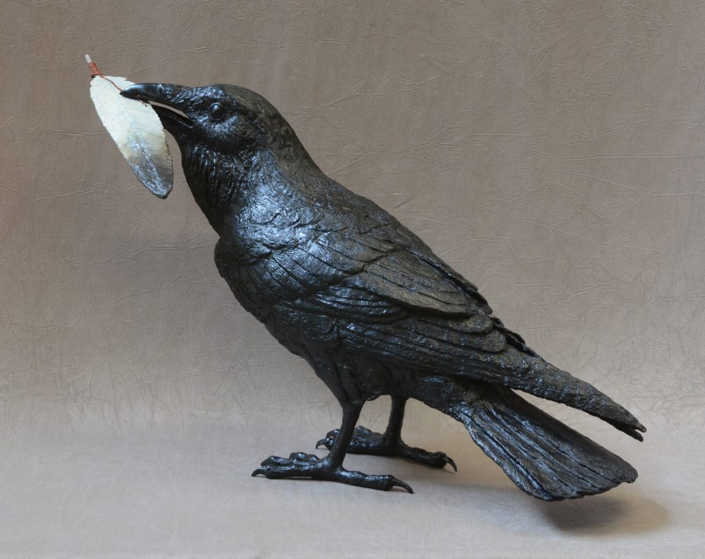 Raven VIII D | Jim Eppler | Sculpture-Exposures International Gallery of Fine Art - Sedona AZ