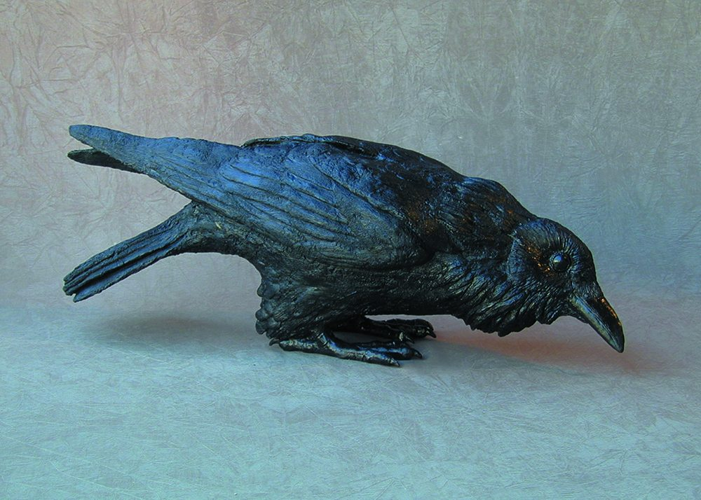 Raven X | Jim Eppler | Sculpture-Exposures International Gallery of Fine Art - Sedona AZ