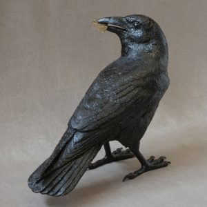 Raven XI D | Jim Eppler | Sculpture-Exposures International Gallery of Fine Art - Sedona AZ