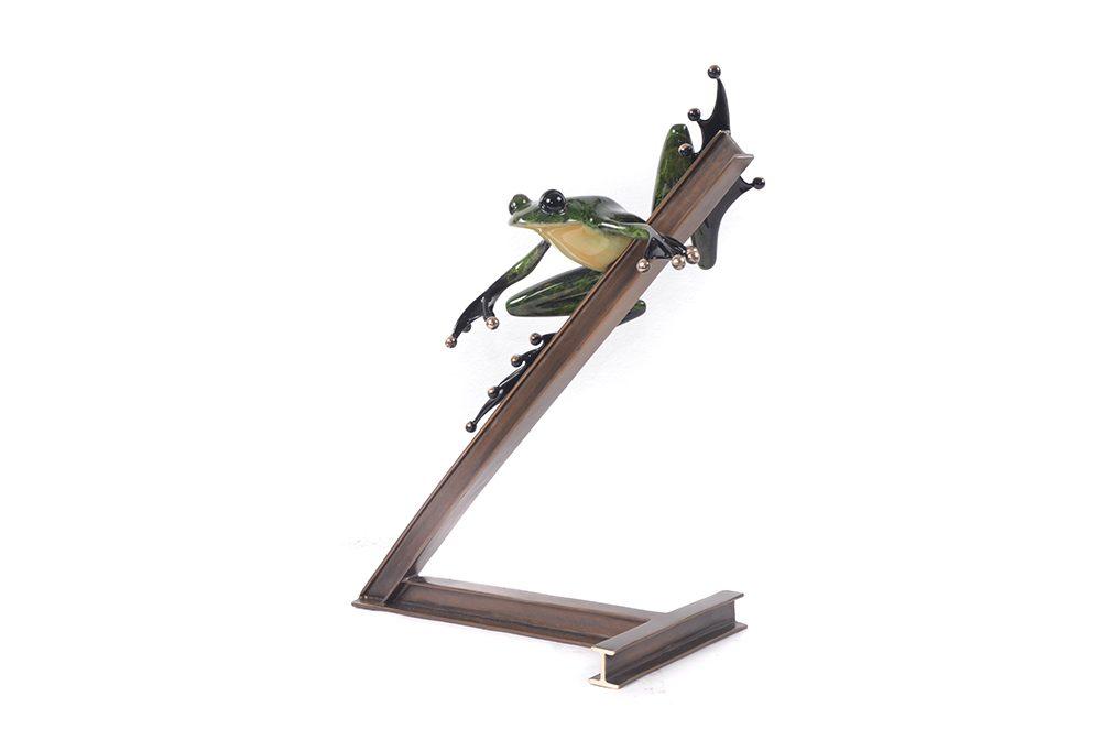 Break's Over | Frogman | Sculpture-Exposures International Gallery of Fine Art - Sedona AZ