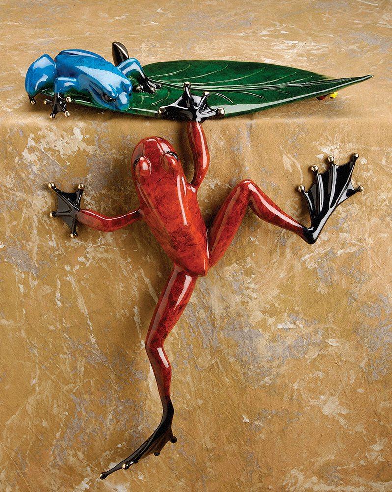 Cliffhanger | Frogman | Sculpture-Exposures International Gallery of Fine Art - Sedona AZ
