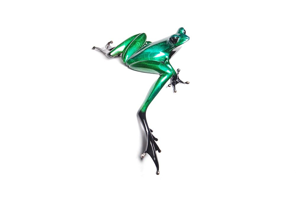 Clover | Frogman | Sculpture-Exposures International Gallery of Fine Art - Sedona AZ