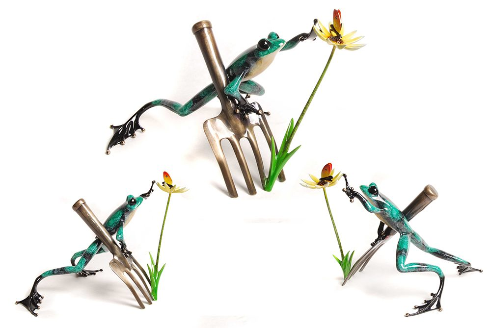 Digger | Frogman | Sculpture-Exposures International Gallery of Fine Art - Sedona AZ