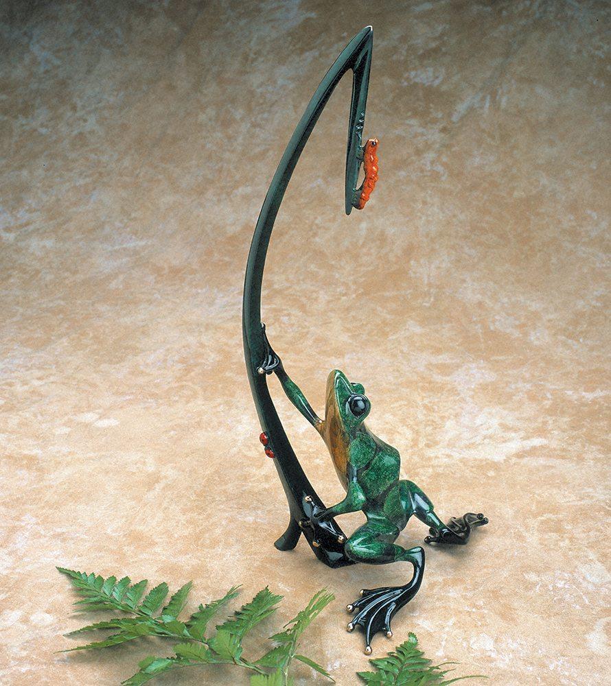 Dinner for Two | Frogman | Sculpture-Exposures International Gallery of Fine Art - Sedona AZ