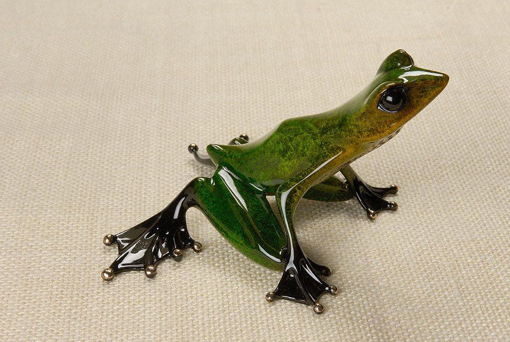Emerald | Frogman | Sculpture-Exposures International Gallery of Fine Art - Sedona AZ
