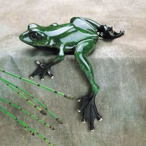 Fat Boy | Frogman | Sculpture-Exposures International Gallery of Fine Art - Sedona AZ