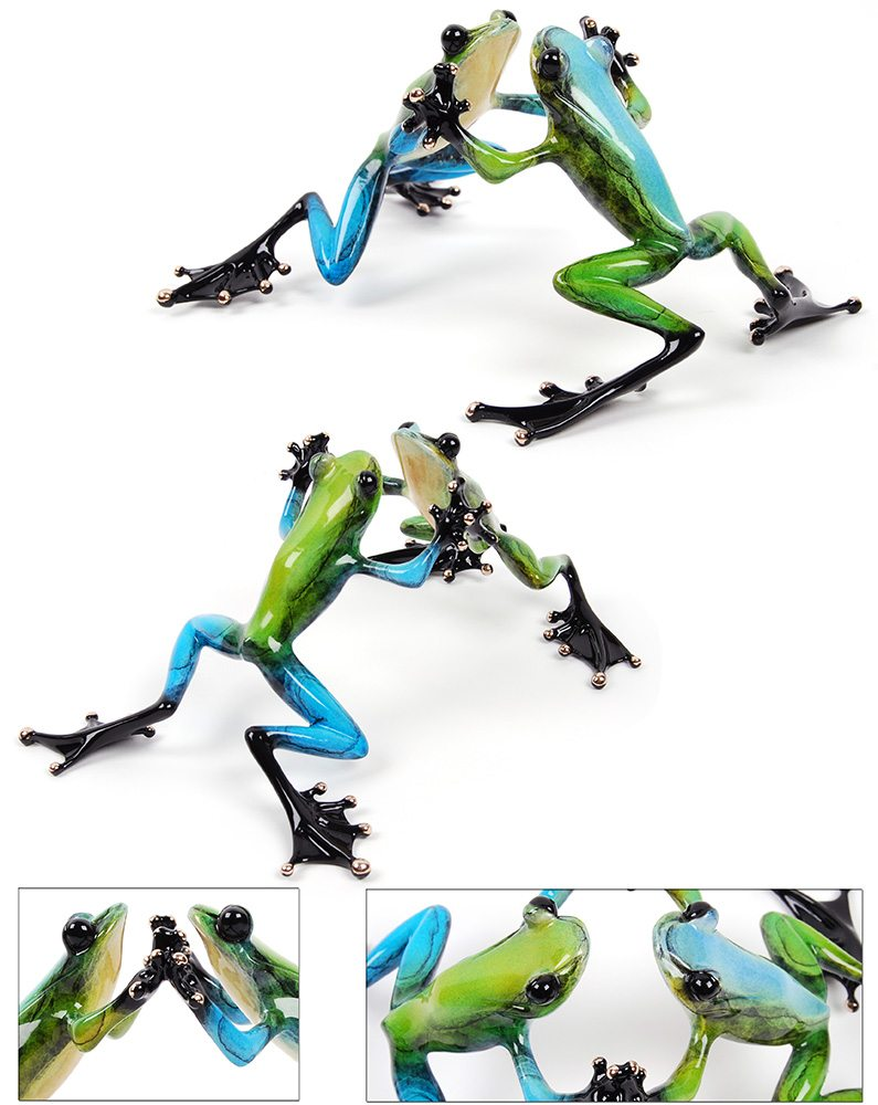 Jitterbug | Frogman | Sculpture-Exposures International Gallery of Fine Art - Sedona AZ