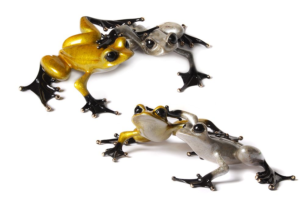 Love | Frogman | Sculpture-Exposures International Gallery of Fine Art - Sedona AZ