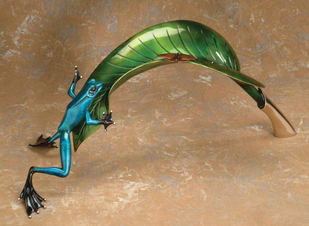 Over the Top   Frogman   Sculpture-Exposures International Gallery of Fine Art - Sedona AZ