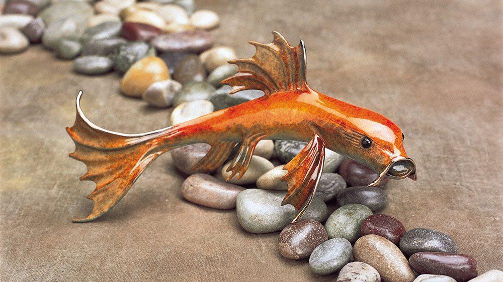 Small Fry | Frogman | Sculpture-Exposures International Gallery of Fine Art - Sedona AZ