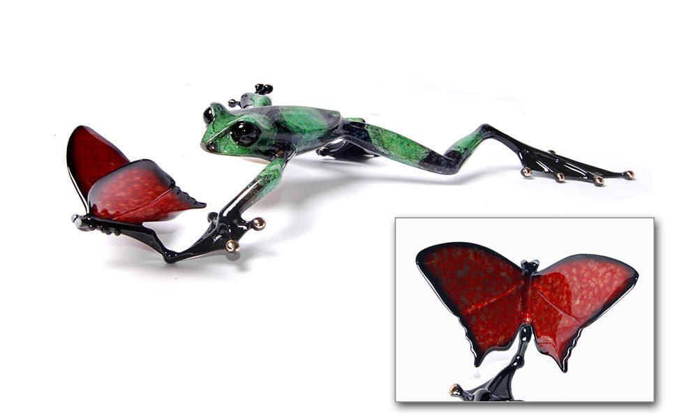 Taking Flight   Frogman   Sculpture-Exposures International Gallery of Fine Art - Sedona AZ