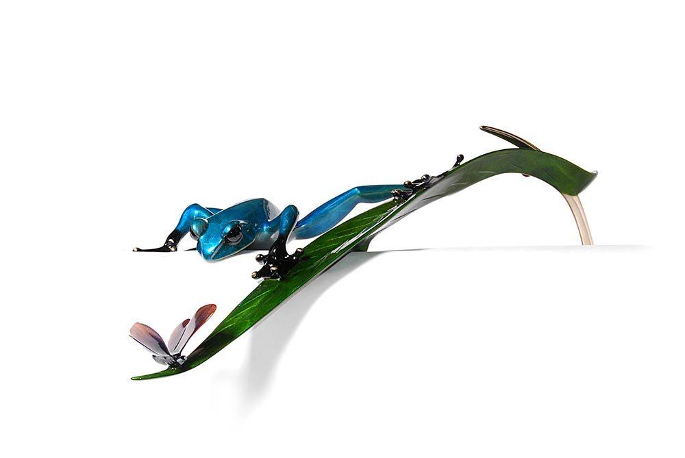 Treasure Hunt | Frogman | Sculpture-Exposures International Gallery of Fine Art - Sedona AZ