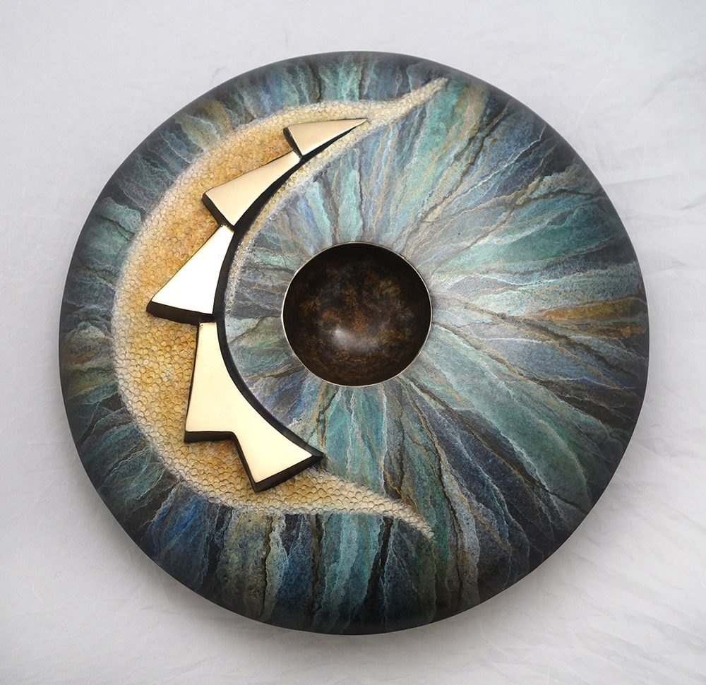 Seed Pot | Kim Obrzut | Sculpture-Exposures International Gallery of Fine Art - Sedona AZ