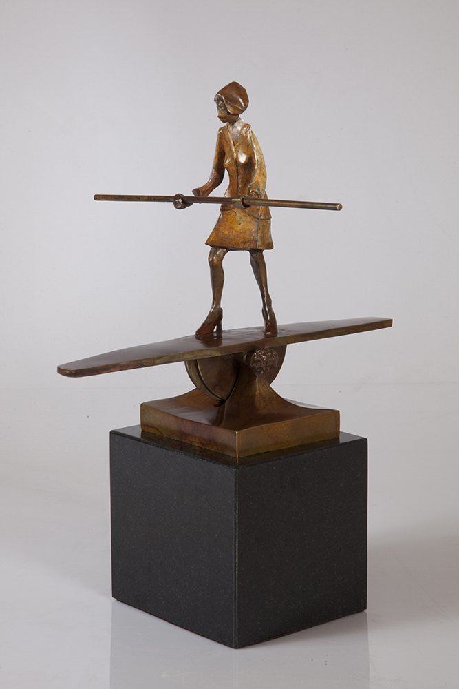 Balancing Act | Richard Pankratz | Sculpture-Exposures International Gallery of Fine Art - Sedona AZ