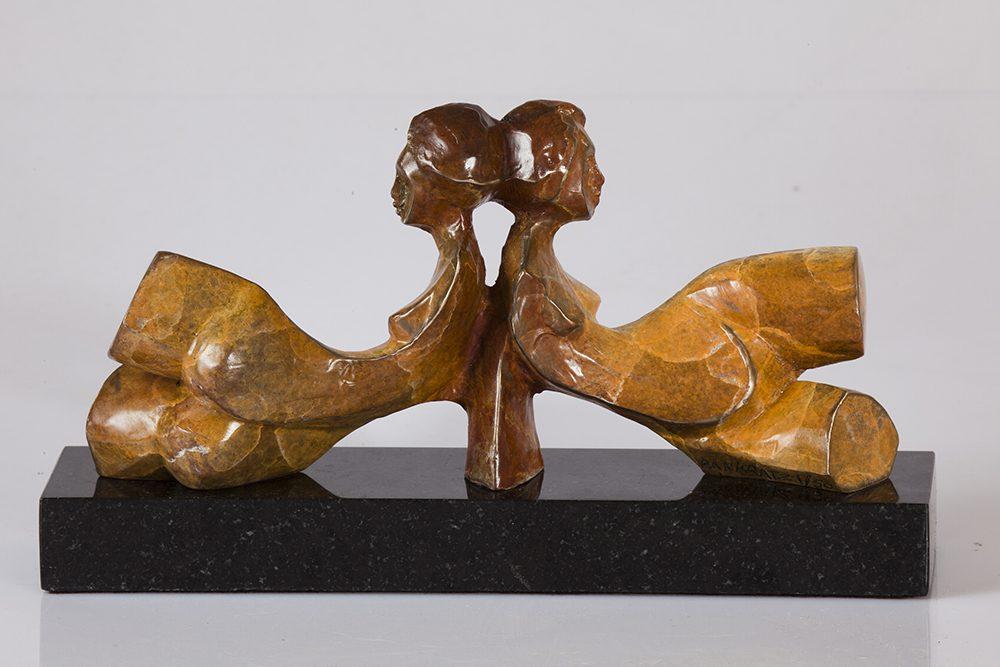 Bosom Buddies | Richard Pankratz | Sculpture-Exposures International Gallery of Fine Art - Sedona AZ
