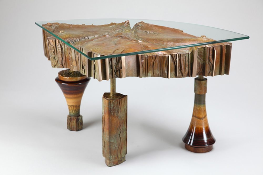 Mother Earth Table | Richard Pankratz | Furniture-Exposures International Gallery of Fine Art - Sedona AZ
